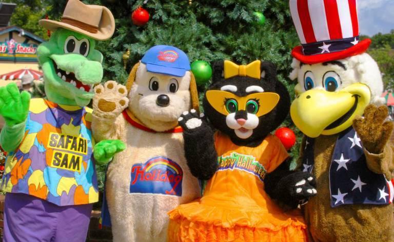 Holiday World Mascots