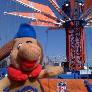 Holidog at the Superbowl