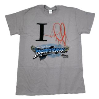 I Heart Thunderbird T-Shirt - Gray