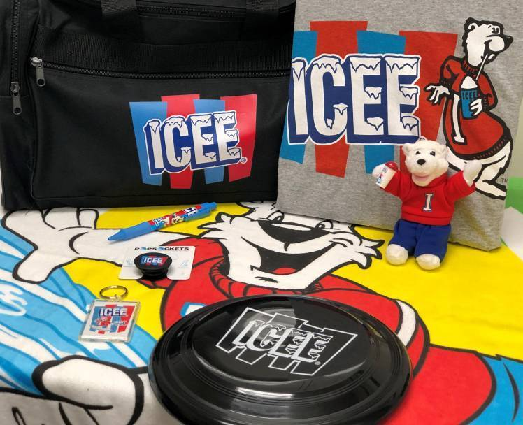 ICEE Sweepstakes swag