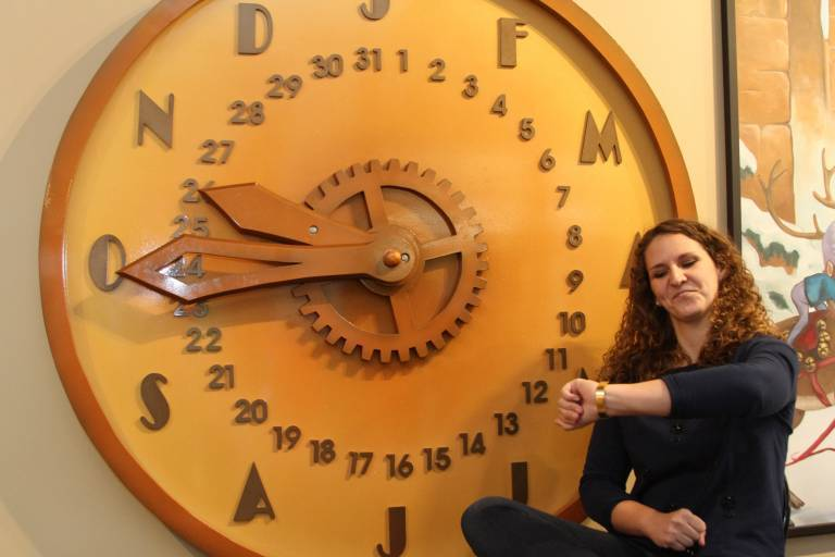 Leah and the Big Clock