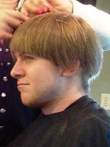 John's hair
