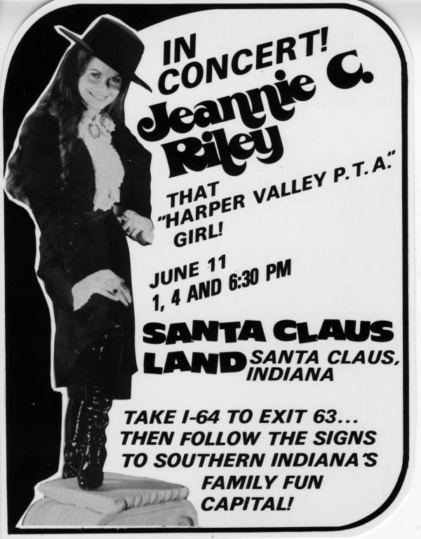 "Jeanie C. Riley ""That Harper Valley PTA Girl"" ad"