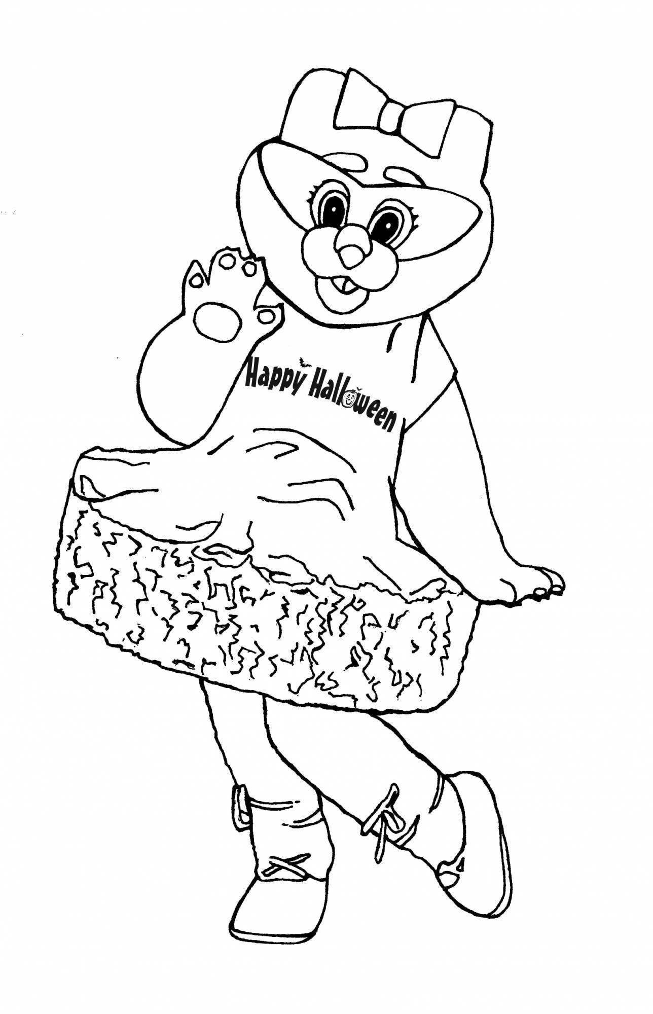 Kitty Claws Coloring Page