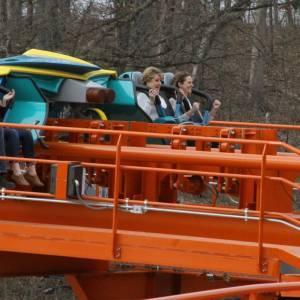 Koch Family's First Thunderbird Ride