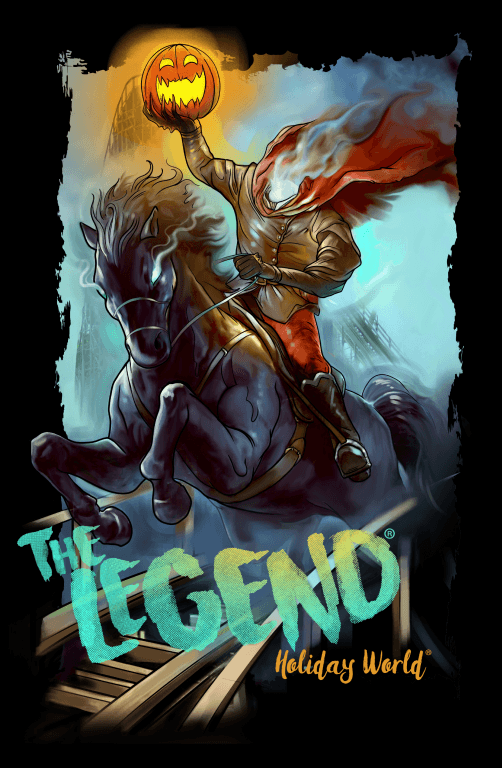 Legend shirt artwork
