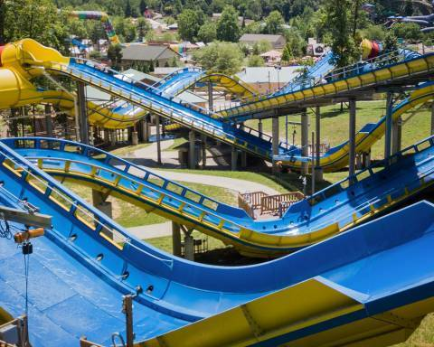 Mammoth - World's Longest Water Coaster | Holiday World & Splashin' Safari