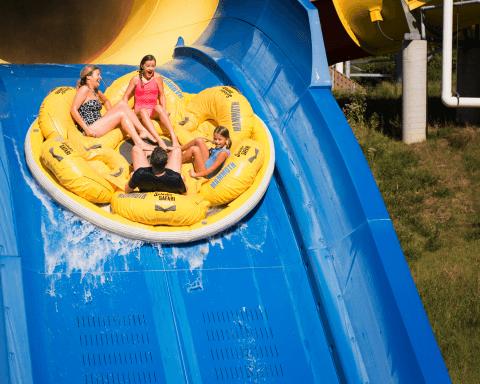 Mammoth Water Coaster | Holiday World & Splashin' Safari