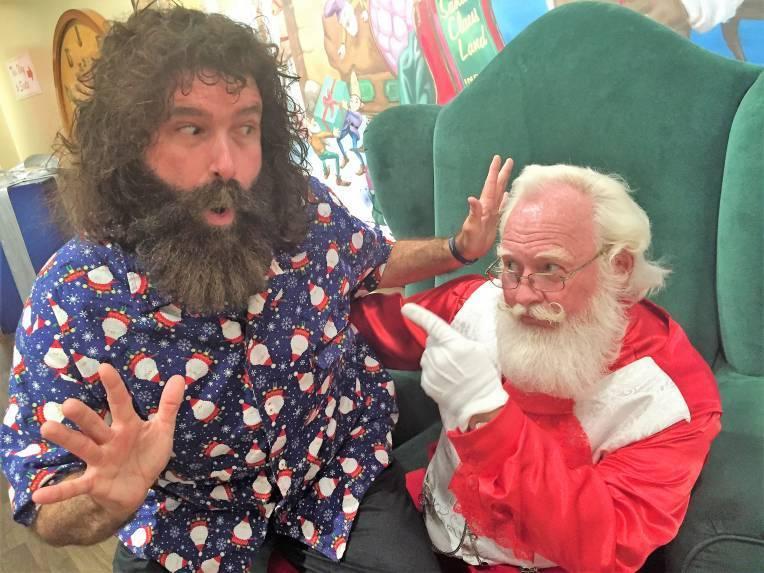 Mick & Santa in 2016