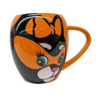 Kitty Claws Character Mug, Front