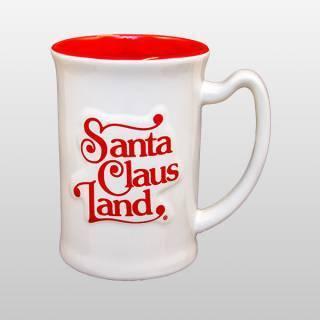 Santa Claus Land Mug, Back