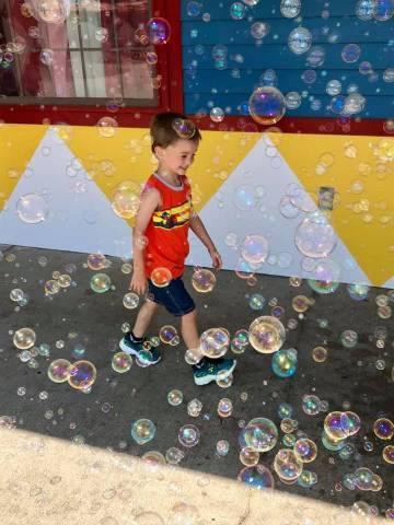 Nicki Fuhrman Bubbles
