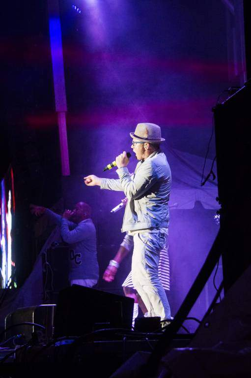 TobyMac on Stage