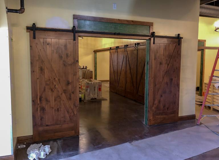 Party Room Doors
