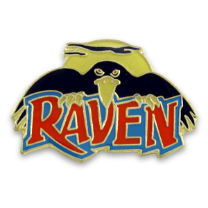 Raven Pin | HoliShop