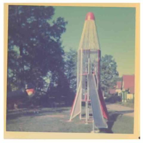 Rocket Slide at Santa Claus Land