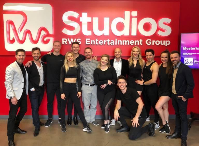 New magic show cast and creators