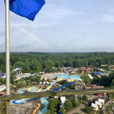 Rainbow over Splashin' Safari