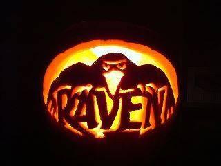 Raven pumpkin