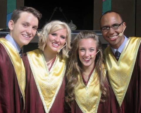 The 2011 cast of Rejoice!
