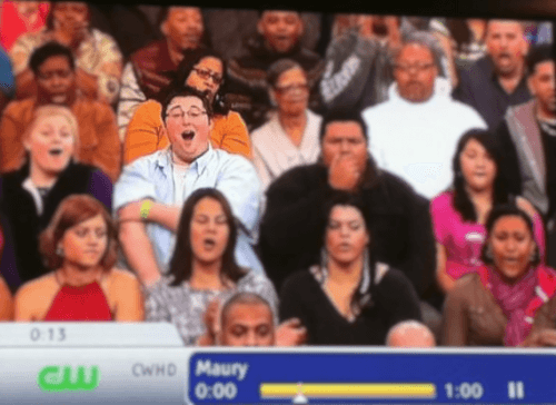 Attractions Director in the Maury audience