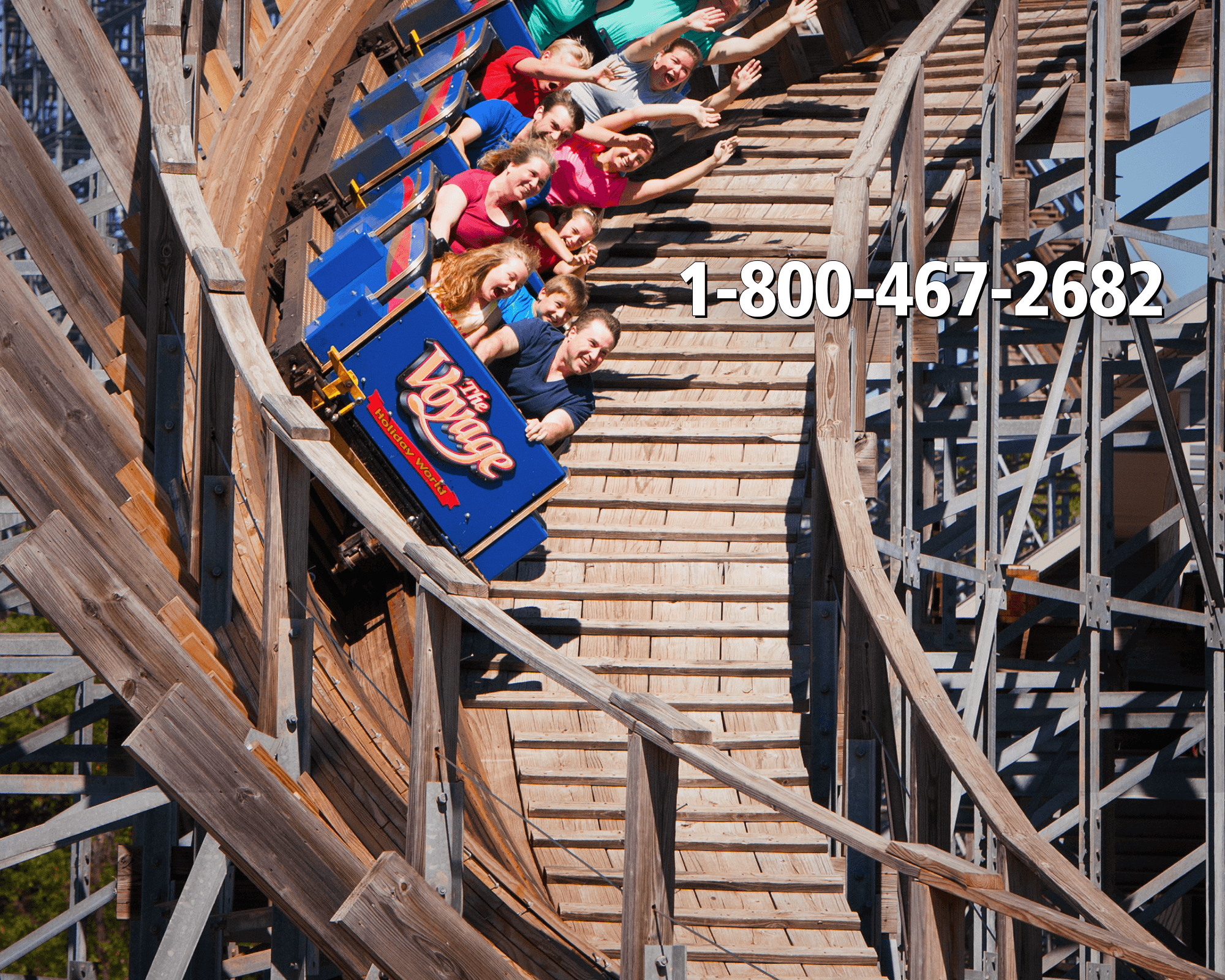 Call Today! 1-800-467-2682 | Holiday World & Splashin' Safari