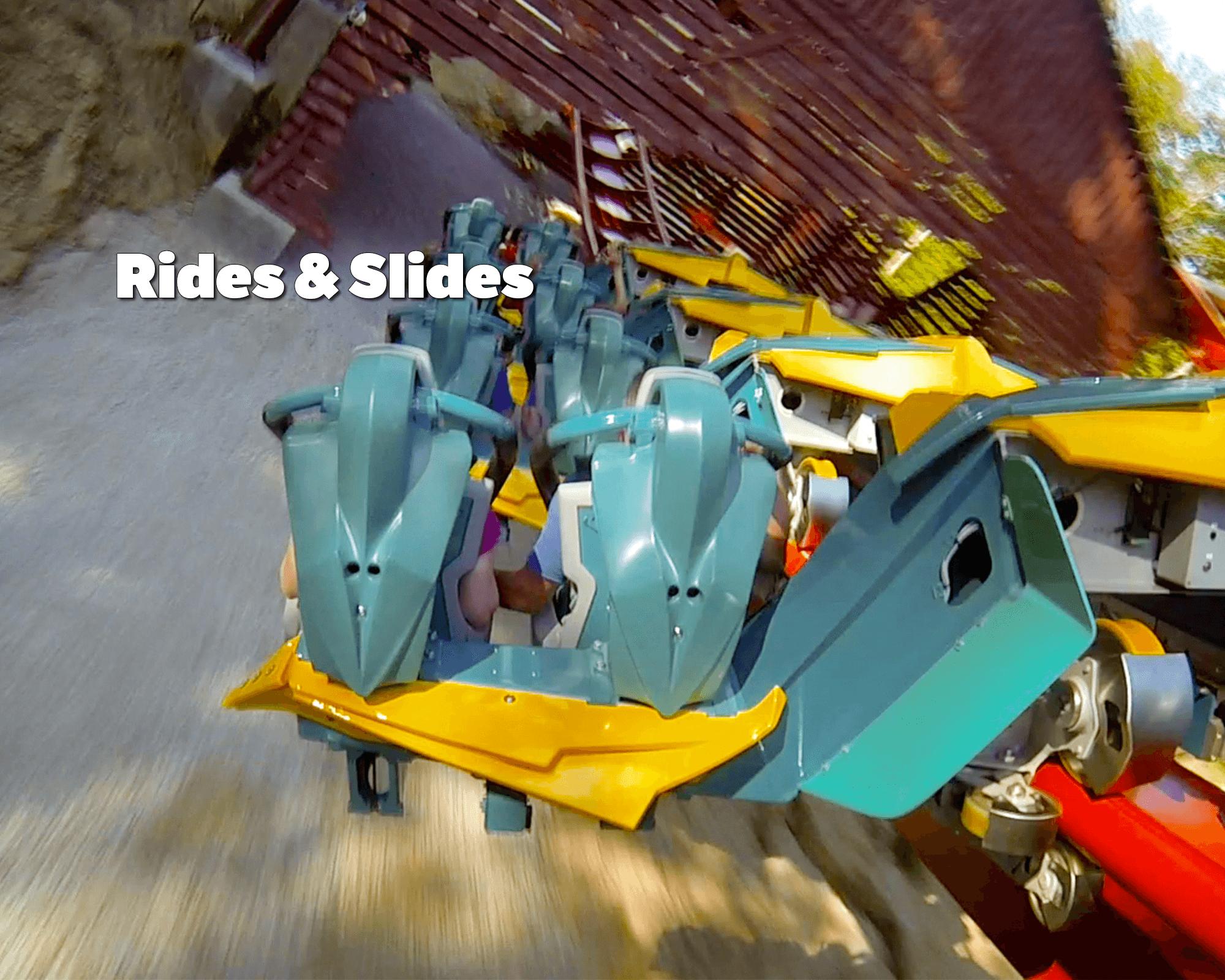 Rides & Slides | Holiday World & Splashin' Safari