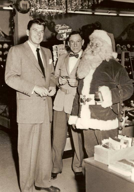 Ronald Reagan. Louis J. Koch, Santa Jim Yellig