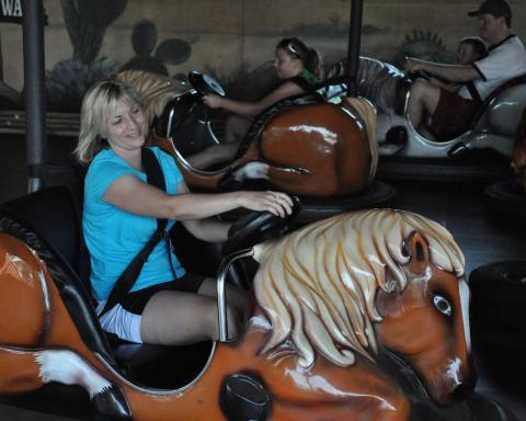 Rough Riders | Holiday World & Splashin' Safari
