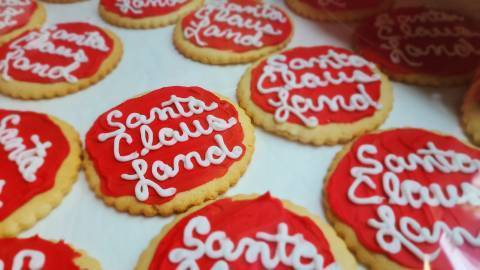 Santa Claus Land Cookies Created for August 3