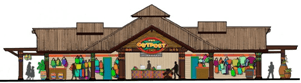 Safari Outpost design