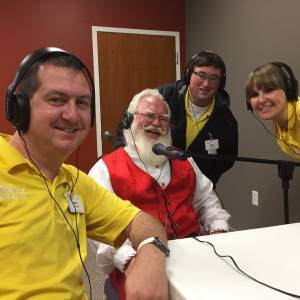 Santa and the PodSquad
