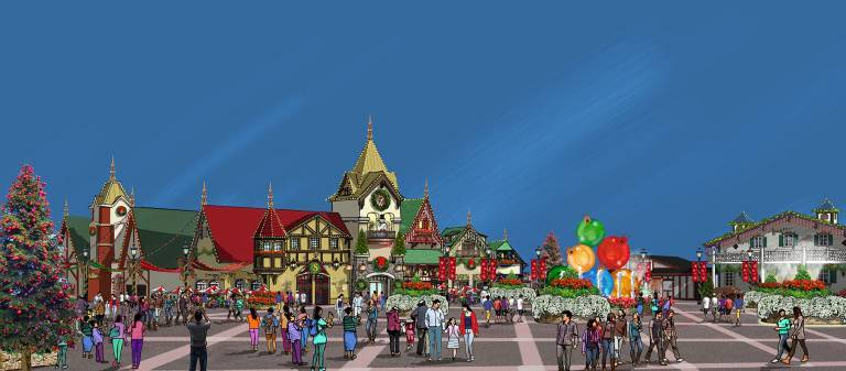 Santa's Merry Marketplace & Christmas Plaza