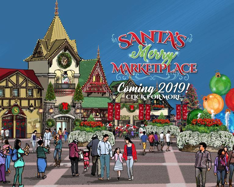 Santa's Merry Marketplace | Coming 2019!
