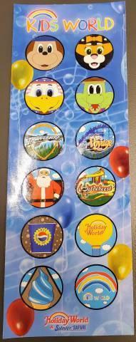 Scavenger Hunt Stickers