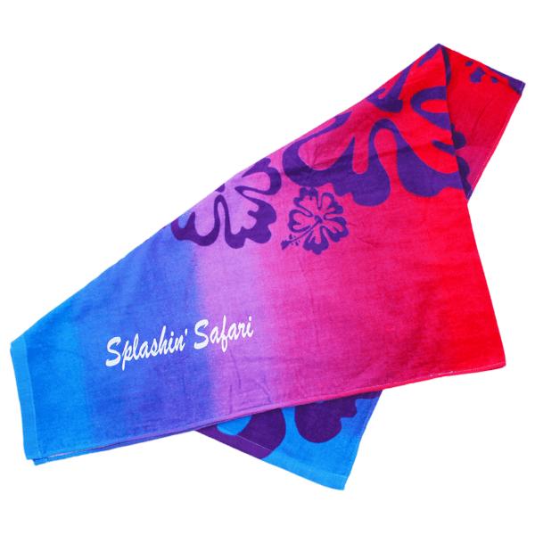 Splashin' Safari Beach Towel