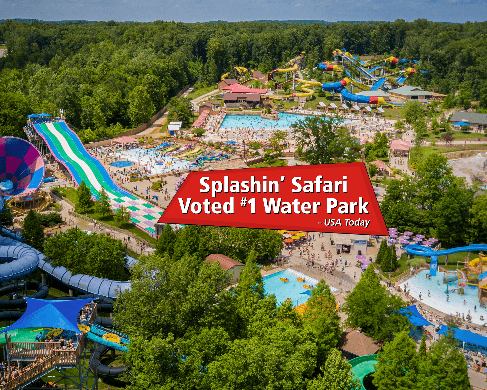 Splashin' Safari - Voted #1 Water Park!