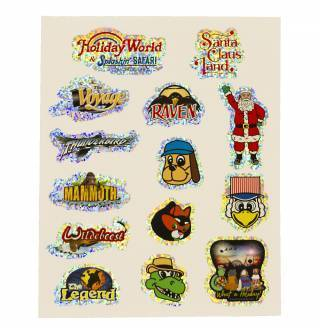 Product Image - Holiday World Stickers