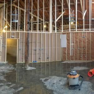 Sugarplum Scoop Shoppe construction