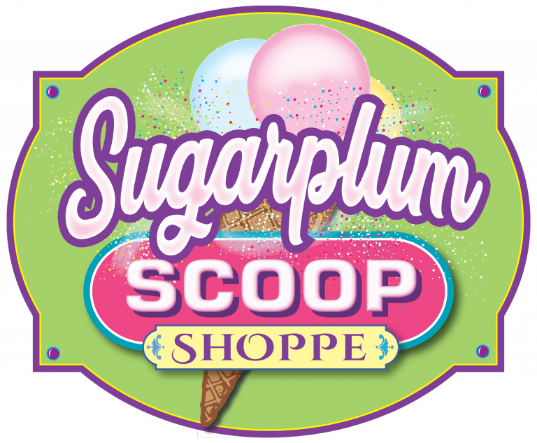 Sugarplum Scoop Shoppe logo