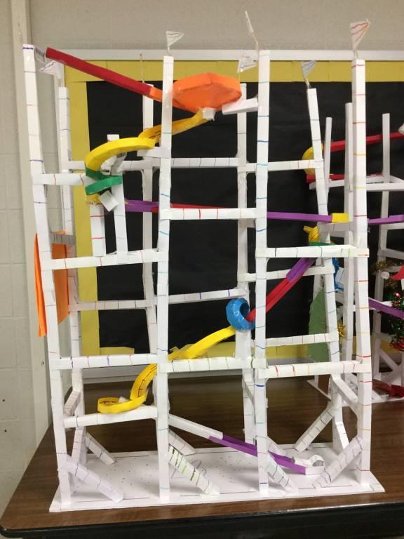 The Striker coaster design (school project)
