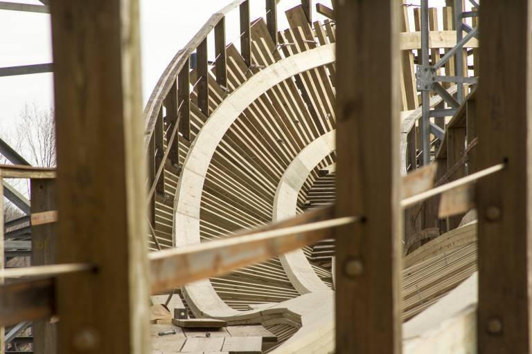 Voyage: Third 90-degree Turn - New Wood