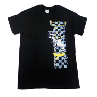 Thunderbird Checkerboard T-Shirt - Black