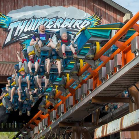 Thunderbird - Launching | Holiday World & Splashin' Safari