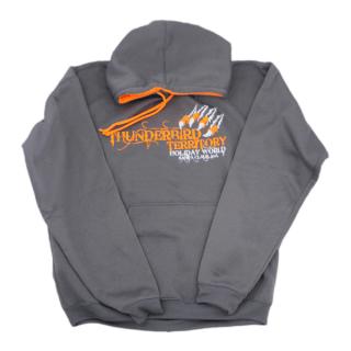 Thunderbird Territory Hoodie - Gray