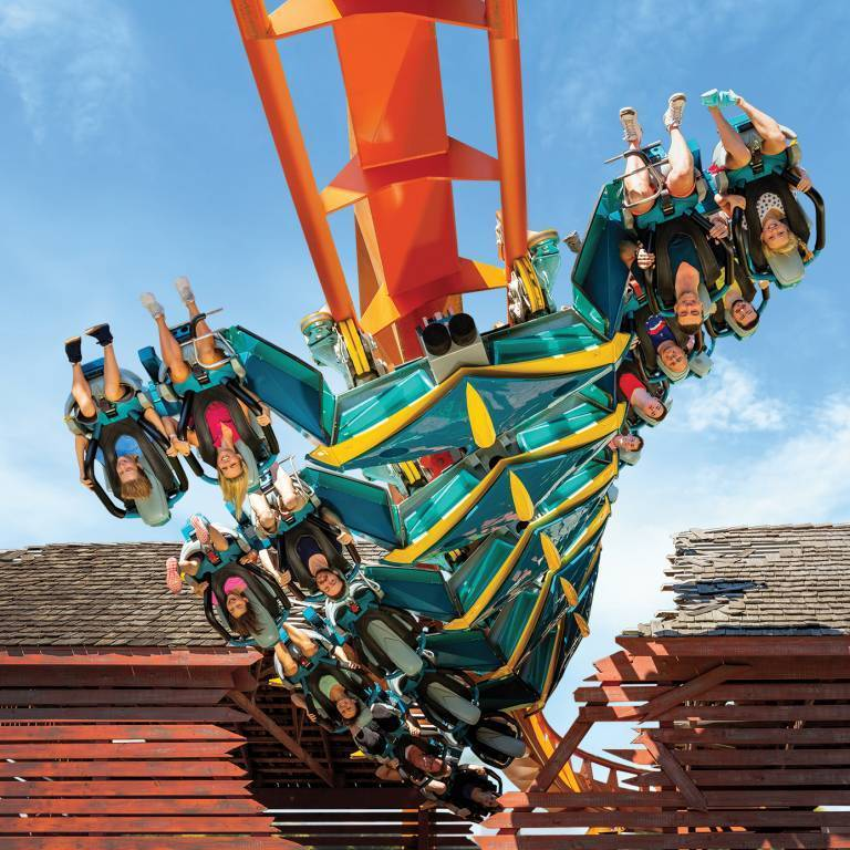 Thunderbird   America's Only Launched Wing Coaster
