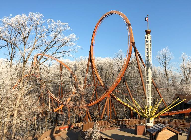 Thunderbird Vertical Loop and Crows Nest