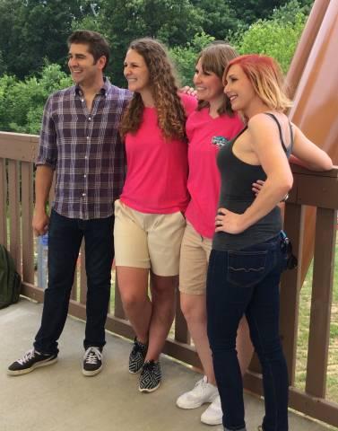From left: Tory, Leah, Lauren, Kari
