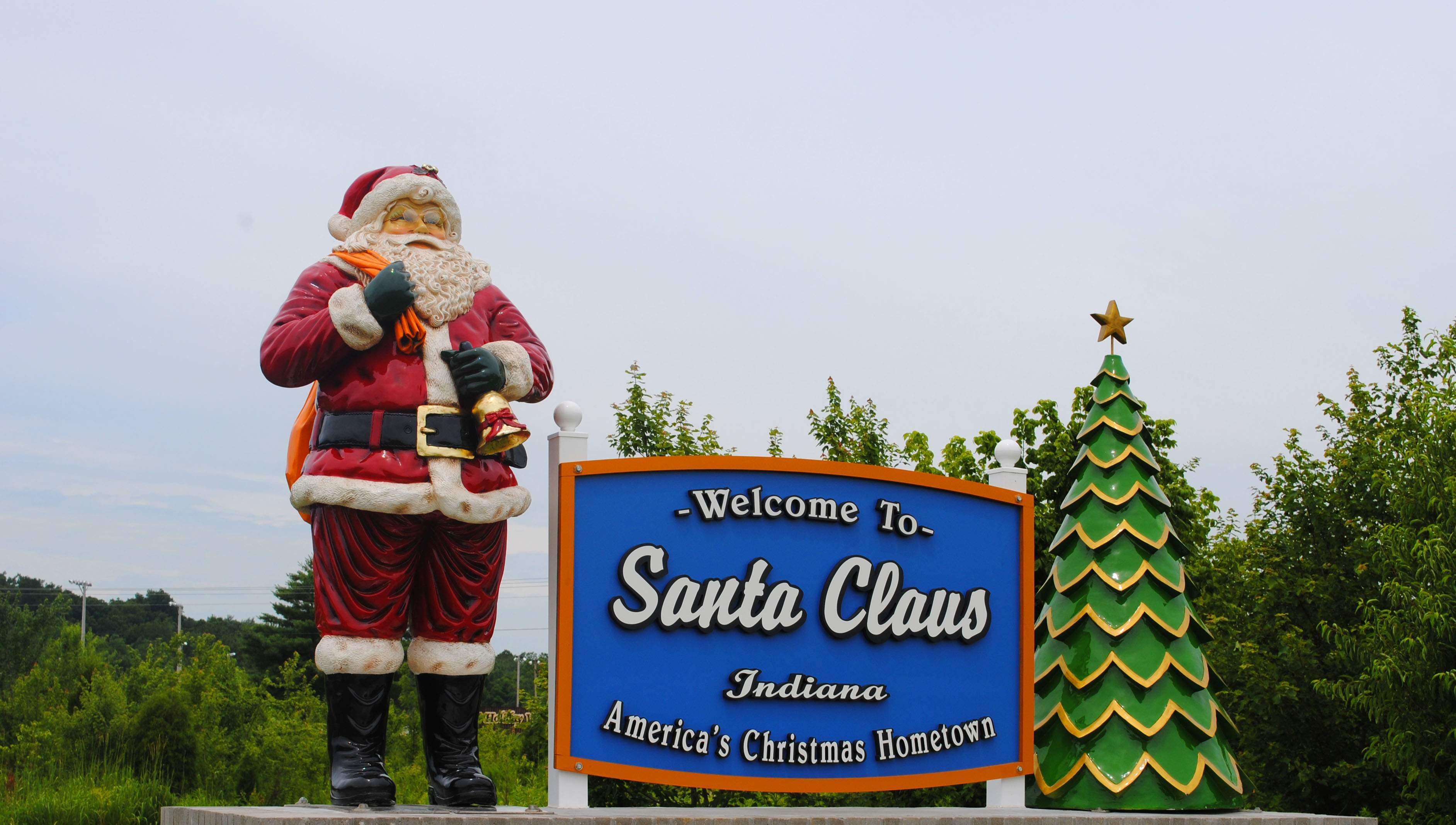 Welcome to Santa Claus, Ind.
