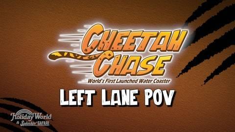 Holiday World + Cheetah Chase: Left Lane POV
